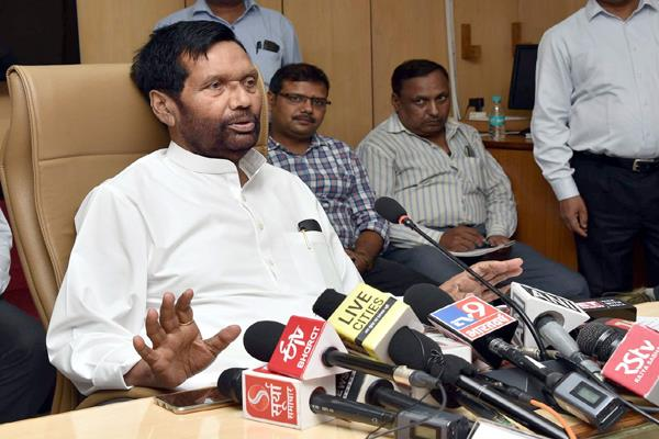 not enough foodgrains adequate stock in the country paswan