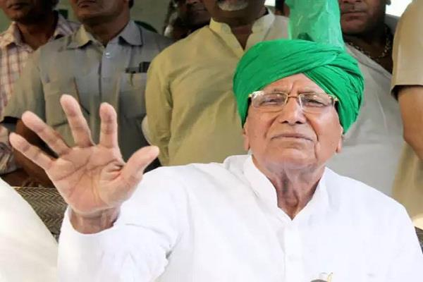 o p chautala returned to jail after being reinstated in inlo