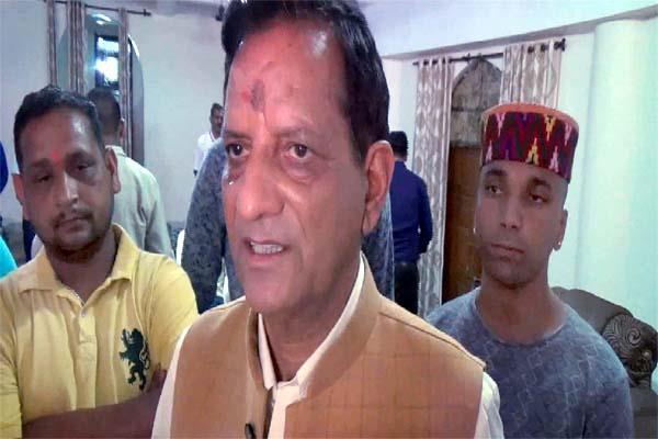newly elected mp kishan kapoor
