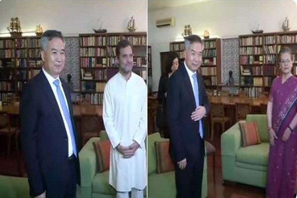 chinese delegation meet sonia rahul gandhi
