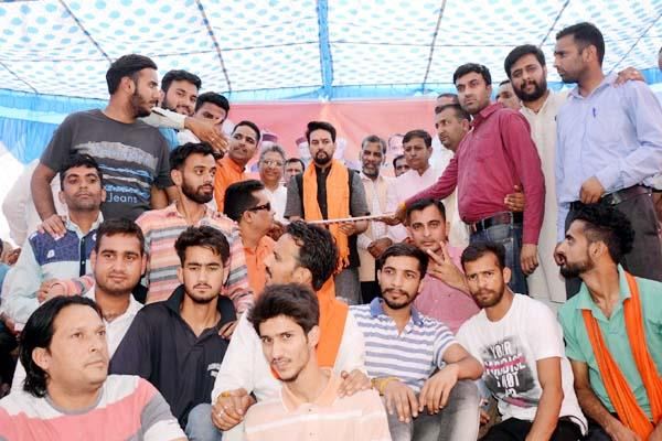 union finance and corporate minister anurag thakur