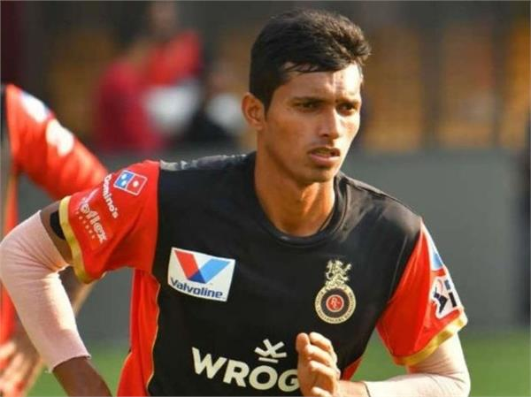 navdeep saini became part of team india in world cup called from england