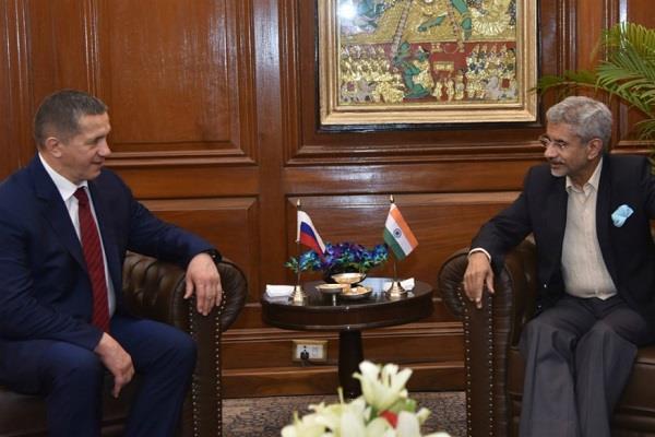 s jaishankar meets russian deputy prime minister