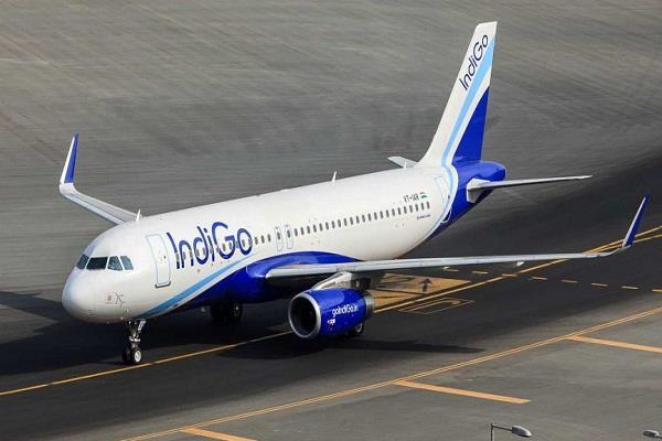 after the passenger s disaster the indigo plane s emergency landing