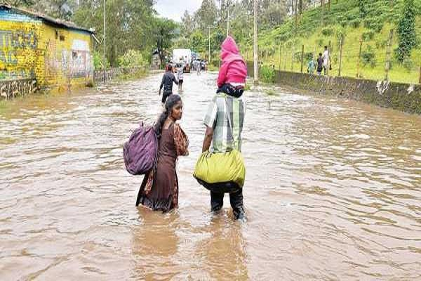 four dead in kerala three missing red alert in several districts