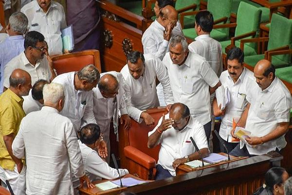 kumaraswamy government s power test today read special for 18th july