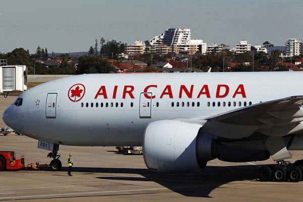 air canada flight emergency landing 35 passengers injured