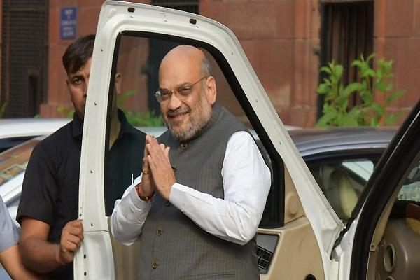 home minister amit shah on a two day visit