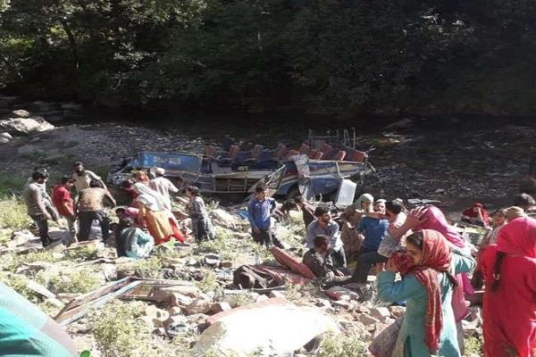 101 deaths in 6 major road accidents in 11 days in j k himachal and uttarakhand