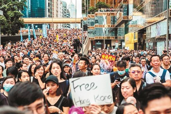what is the root cause of  hong kong crisis