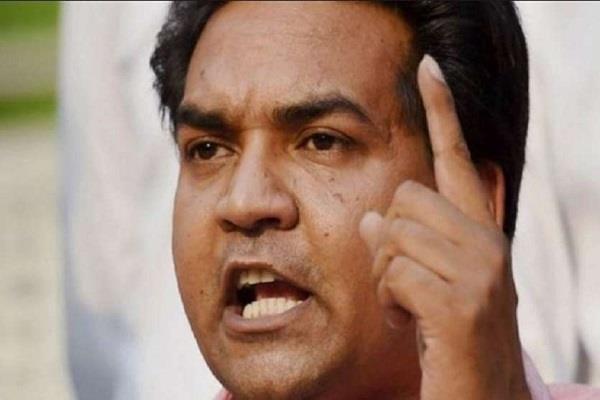 kapil accuses anti party activities on kejriwal