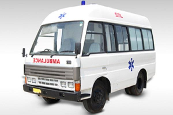 ambulance does not get pcr gets hospitalized