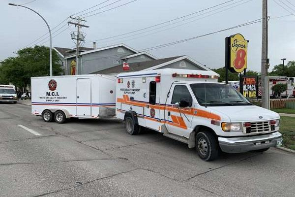46 people hospitalized after gas leakage in canada