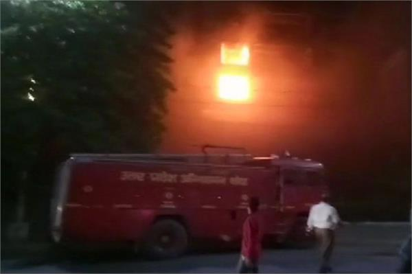 fire in pickup building cm yogi ordered inquiry