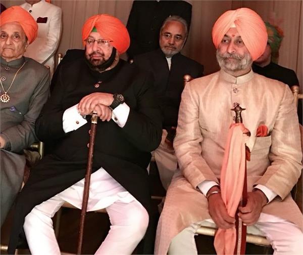 captain amarinder singh son in law