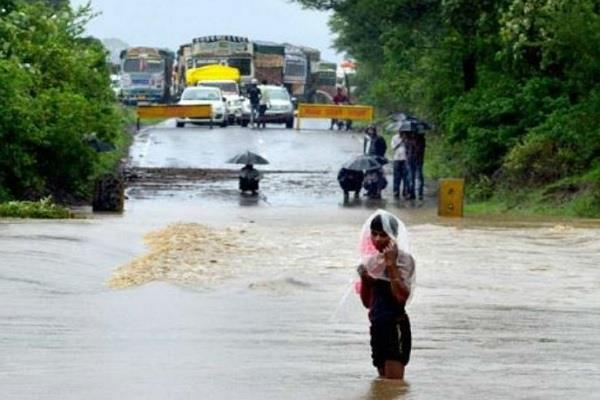 rain erupted in madhya pradesh orange alert in many districts