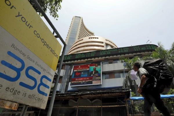 sensex falls 77 points and nifty opens at 11665