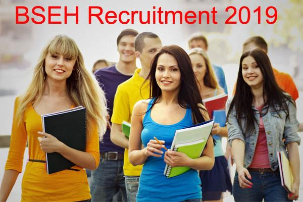 bseh recruitment 2019 recruitment of 895 posts including teaching