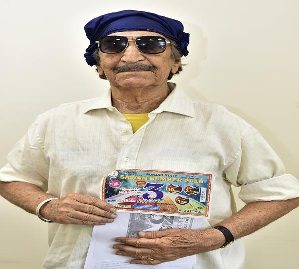 94 year old wins rs 1 5 cr lottery