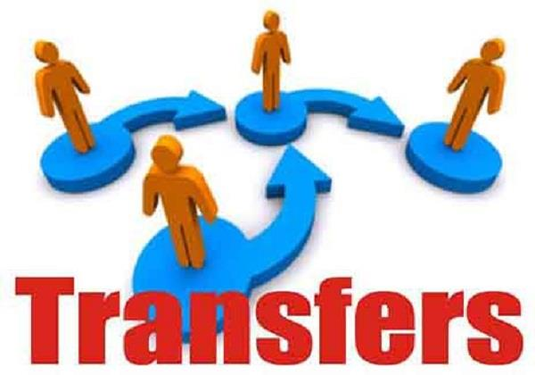 transferred 11 police officers including sp