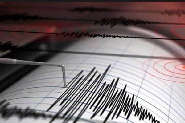 seismic tremors felt in sonepat 3 2 assessed intensity