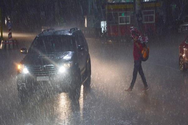 heavy rain in the mp