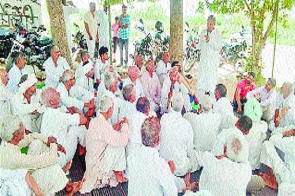 efforts to make jind district a center of kisan movement