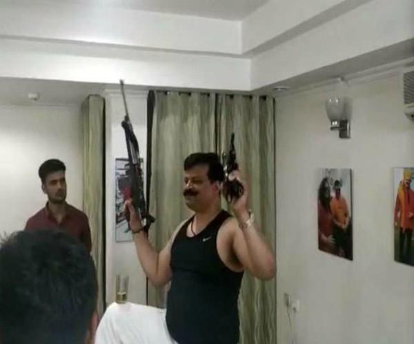 bjp legislator kunwar pranab singh was removed from the party