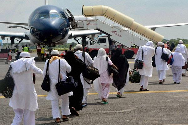 14500 pilgrims from lucknow to hajj