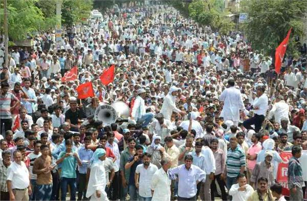 farmer s movement will be biggest akhada of politics before assembly elections
