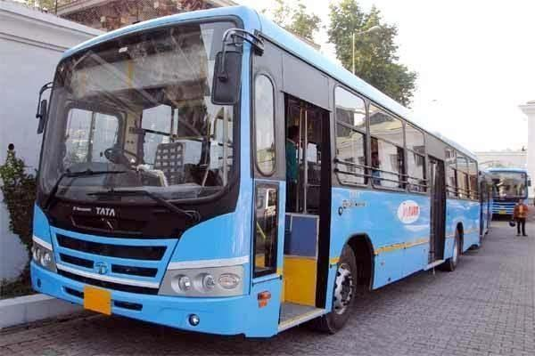 hrtc 50 blue buses on the roads again