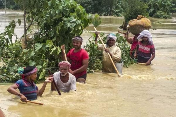 67 people death due to flood in bihar