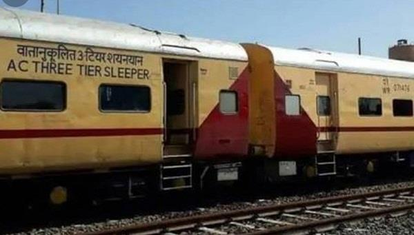 protest against railway