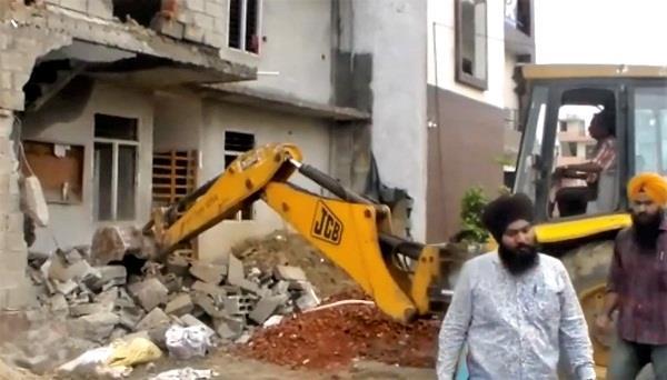 illegal construction