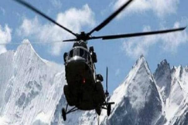 rescue operation at an altitude of 17000 feet