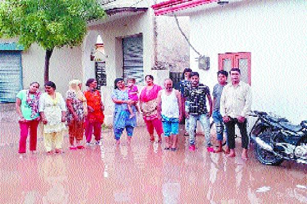 plight of the cantonment 2 hour rain pumps of cleanliness