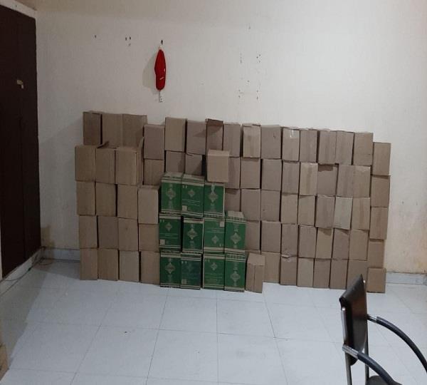 165 liquor recovered