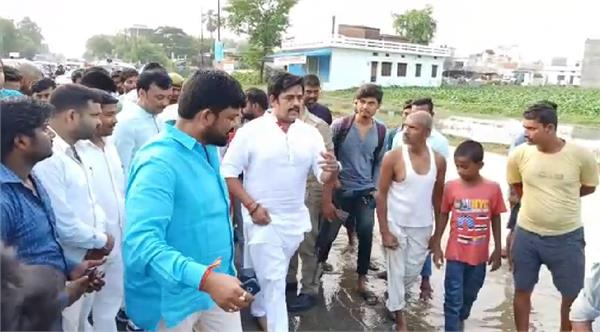 mp ravi kishan inspects inspection