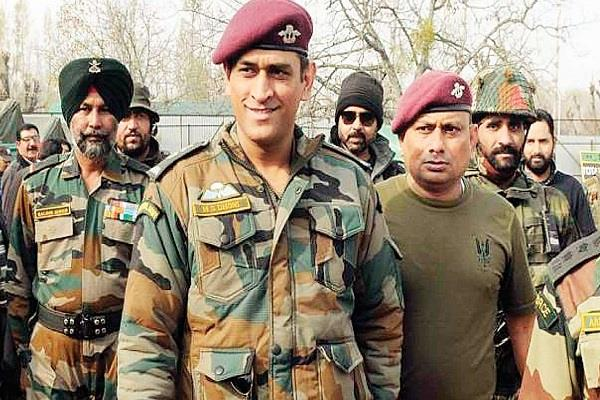 dhoni mission kashmir on today