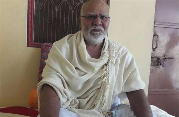 gyanidas s former president of the akhara parishad worships pgi recruitment