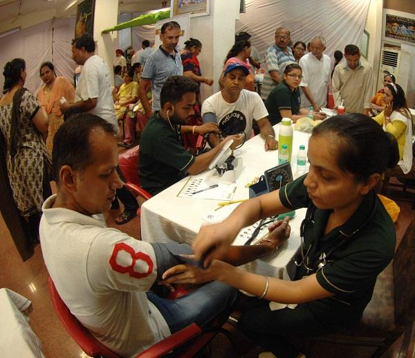 medical check up camp