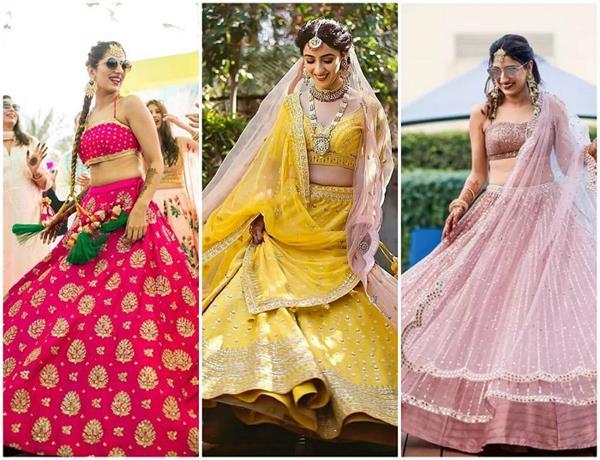 Bridal Fashion: ट्रेंड में आए लहंगे के ये 12 कलर