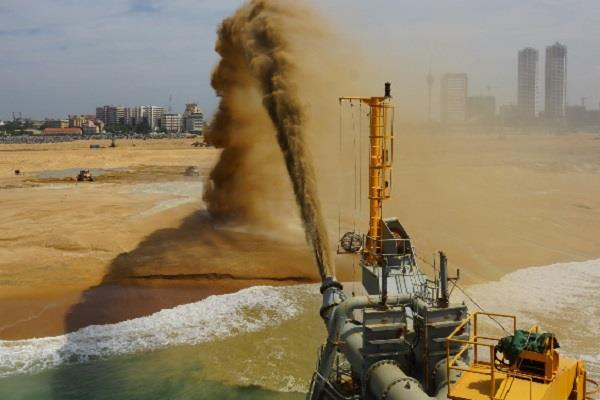 sand can become a major cause of stress in malaysia and singapore