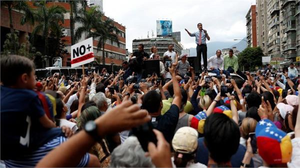 venezuela independence day marked by rival rallies