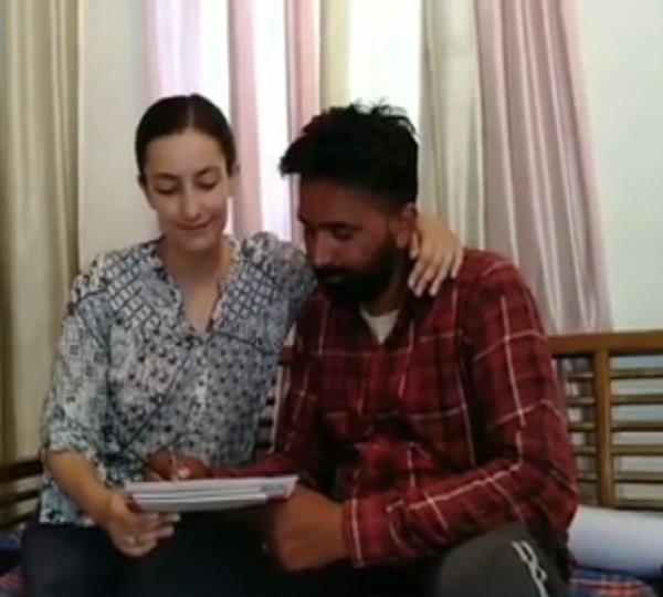 denmark girl married with punjabi boy