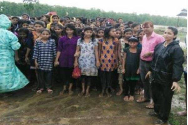 rescued 183 girl students from flooded hostels