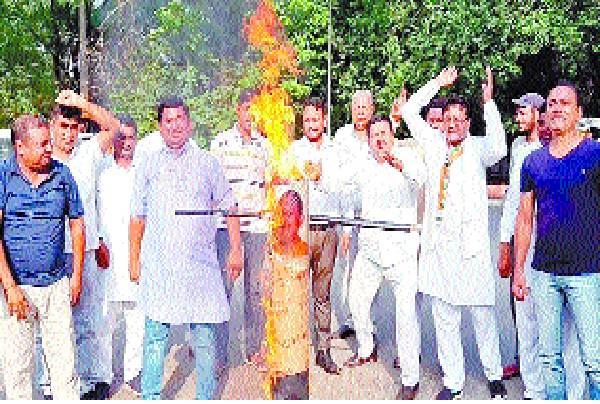 congressmen foonka pm and u p cm puppet of
