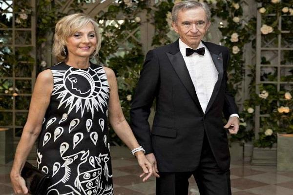 bernard arnott the second richest person in the world