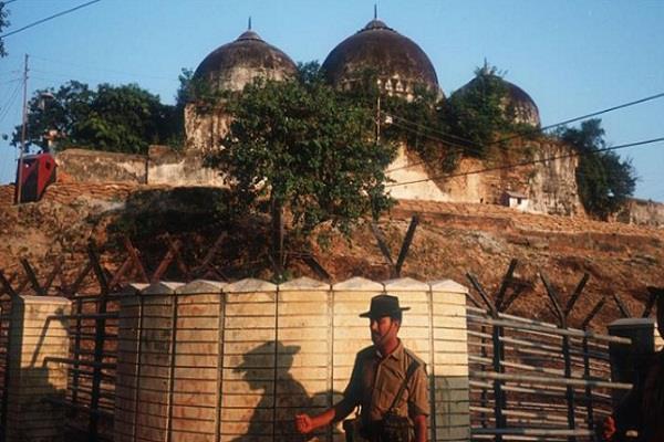 ayodhya babri masjid lal krishna advani murli manohar joshi
