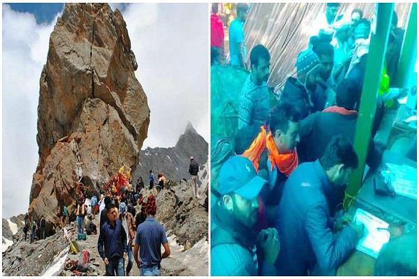 shrikhand mahadev yatra begins again